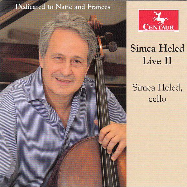 Live Vol.2 - Simca Heled - Musik - CENTAUR - 0044747337722 - 8/7-2015