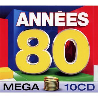 Mega Annees 80 - Various [Wagram Music] - Musik - Wagram - 3596972598722 - 1970