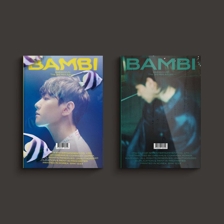 BAMBI (3RD MINI ALBUM) (PHOTO BOOK VER.) - BAEKHYUN - Musik -  - 8809633189722 - April 6, 2021