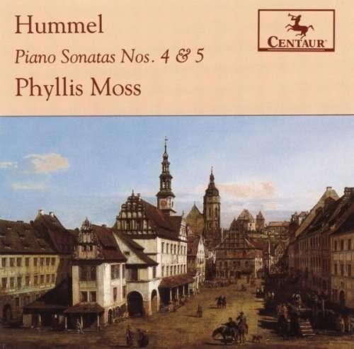 Piano Sonatas No. 4 & 5 - P. Moss - Musik - CENTAUR - 0044747202723 - 30/4-2014