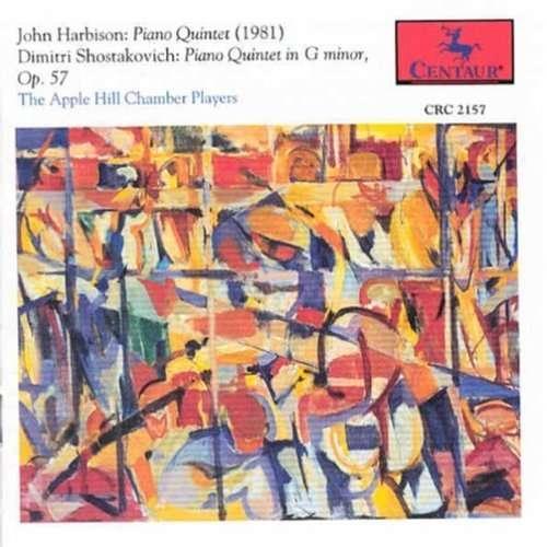 Piano Quintet Op 57 - Shostakovich / Harbison / Apple Hill Chamb Players - Musik - Centaur - 0044747215723 - 1/9-1993