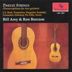 Twelve Strings - Bill Arey - Musik - CENTAUR - 0044747205724 - 30/4-2014