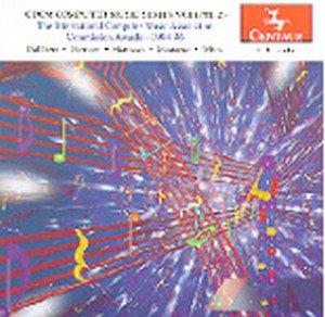 Cdcm Computer Music Series 25 - Dal Farra / Harrison / Motague / White - Musik - Centaur - 0044747234724 - 12/8-2000