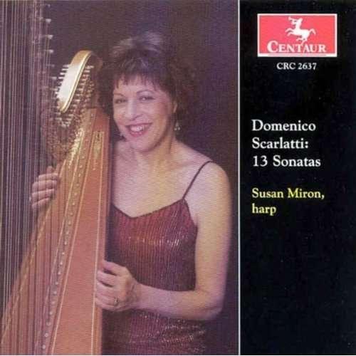 13 Sonatas - Susan Miron - Musik - CENTAUR - 0044747263724 - 30/4-2014