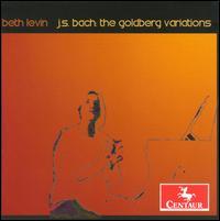 Goldberg Variations Bwv 988 - Beth Levin - Musik - CENTAUR - 0044747292724 - April 30, 2014