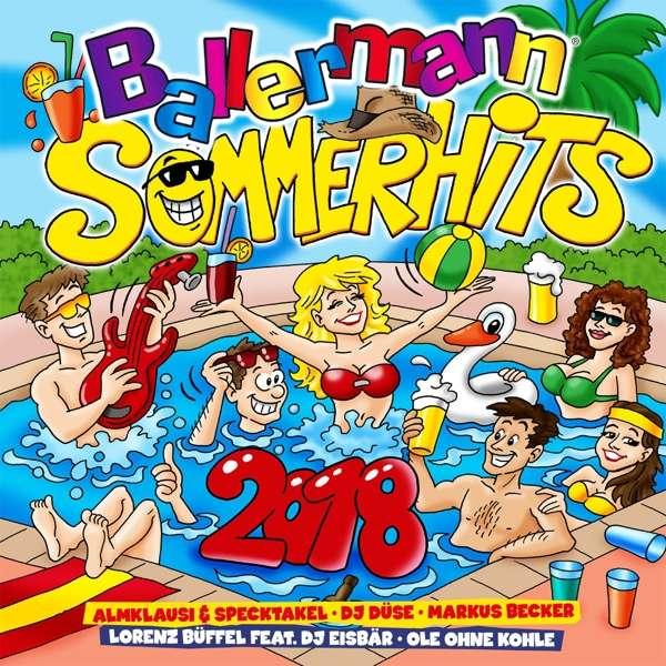 Ballermann Sommer Hits 2018 - V/A - Musik - QUADROPHON - 4032989978724 - 6/7-2018