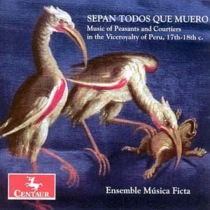 Sepan Todos Que Muero - Musica Ficta - Musik - CENTAUR - 0044747279725 - April 30, 2014