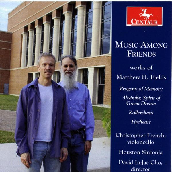 Music Among Friends - Houston Sinfonia - Musik - CENTAUR - 0044747307725 - March 21, 2012