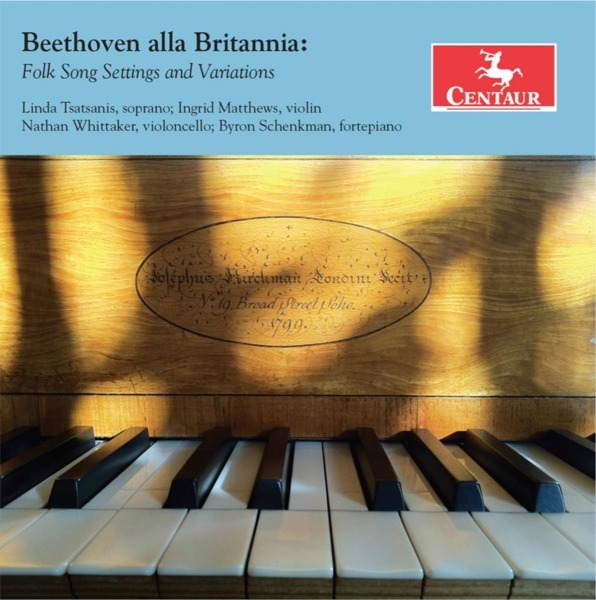 Beethoven Alla Brittania: Folk Song Settings / Variations - Beethoven - Musik - CENTAUR - 0044747349725 - 4/10-2018