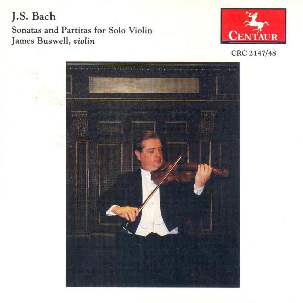 Sonata #1 in G Minor Bwv 10 - Bach,j.s. / Buswell - Musik - CENTAUR - 0044747214726 - 1/4-1995