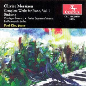 Complete Works for Piano - O. Messiaen - Musik - CENTAUR - 0044747256726 - 17/4-2003