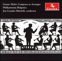Composer As Arranger - Holst / Purcell / Phil Bulgarica / Mitchell - Musik - Centaur - 0044747285726 - 26/6-2007