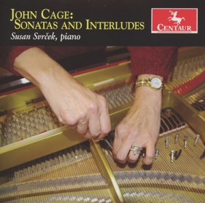 Sonatas and Interludes - Susan Svrcek - Musik - CENTAUR - 0044747313726 - 15. oktober 2012