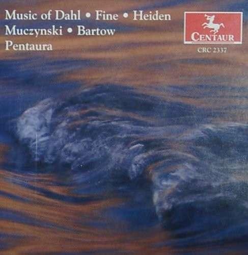 Works for Winds - Dahl / Fine / Muczynski - Musik - Centaur - 0044747233727 - 12/8-2000