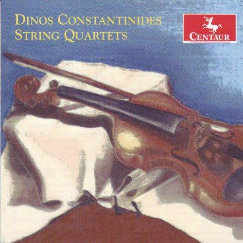 String Quartets - Sinfonietta String Quartet - Musik - CENTAUR - 0044747303727 - March 21, 2012