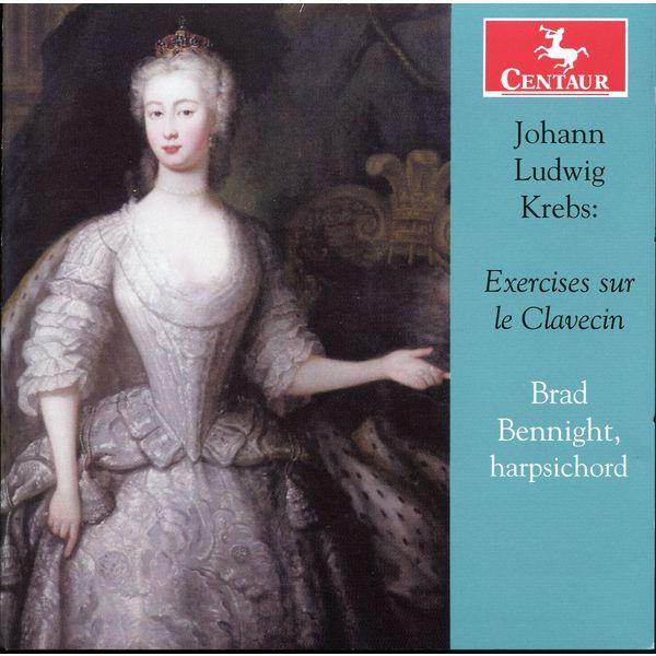 Exercises Sur Le Clavecin - J.l. Krebs - Musik - CENTAUR - 0044747329727 - 21/1-2014