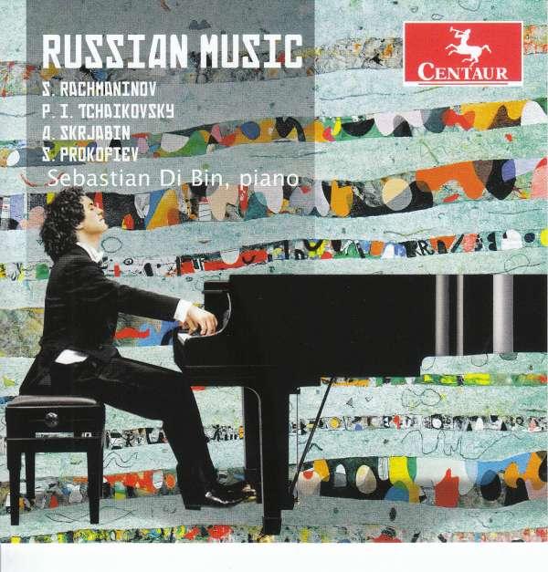 Russian Music - Sebastian Di Bin - Musik - CENTAUR - 0044747358727 - 9/2-2018