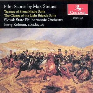 Film Scores by Max Steine - Max Steiner - Musik - CENTAUR - 0044747236728 - 1996