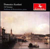 14 Sontas - Scarlatti / Di Bonaventura - Musik - Centaur - 0044747278728 - 26/6-2007