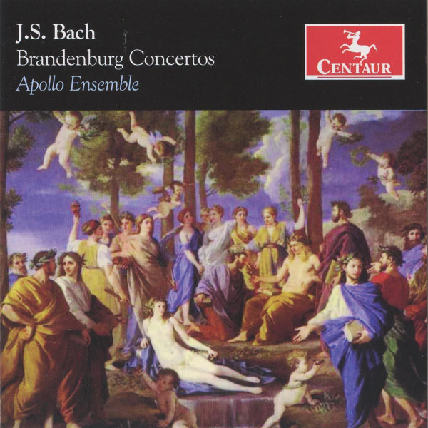 Brandenburg Concertos - J.s. Bach - Musik - CENTAUR - 0044747306728 - June 30, 1990