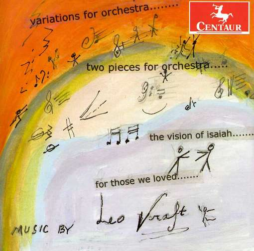Variations for Orch / Two Pieces for Orch - Kraft / Moravian Pco / Suben - Musik - Centaur - 0044747319728 - June 19, 2012