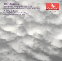 Variations: Song of the Rain God / Song of Earth - Thompson / Antal / Kesselyak / Nat'l Sym Hungary - Musik - Centaur - 0044747255729 - 27/11-2001