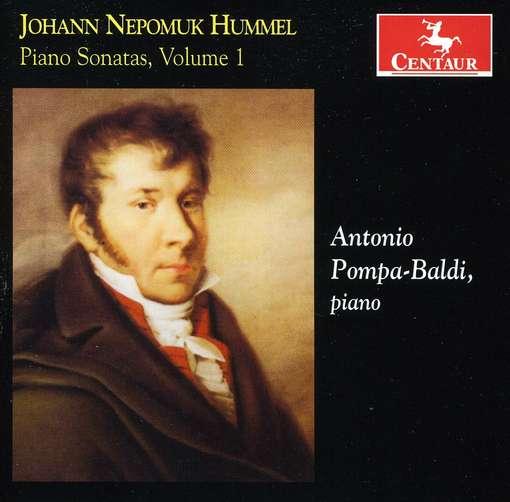 Piano Sonatas Vol.1 - Antonio Pompa-Baldi - Musik - CENTAUR - 0044747312729 - March 21, 2012