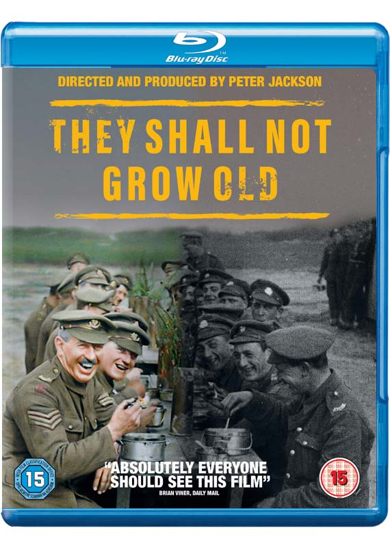They Shall Not Grow Old - Documentary - Film - WARNER HOME VIDEO - 5051892220736 - 25/5-2020