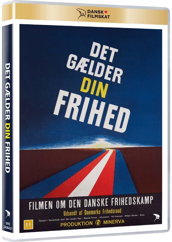 Det Gælder Din Frihed -  - Film - Nordisk Film - 5708758725736 - 14/1-2021