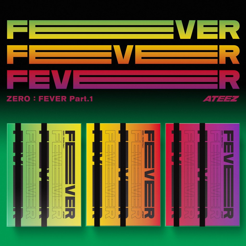 ZERO : FEVER PART.1 (5TH MINI ALBUM)  - ATEEZ - Musik - KQ ENT. - 8809704415736 - 31/7-2020