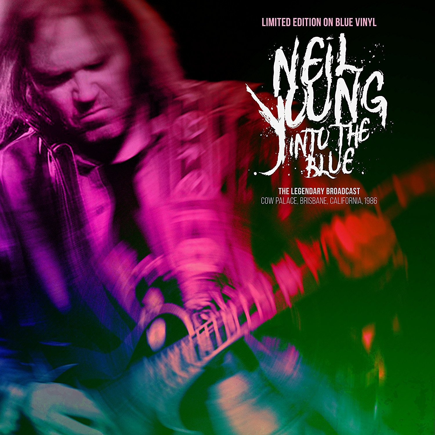 Into The Blue (Blue Vinyl) - Neil Young - Musik - CODA PUBLISHING LIMITED - 5060420347739 - 1/6-2018
