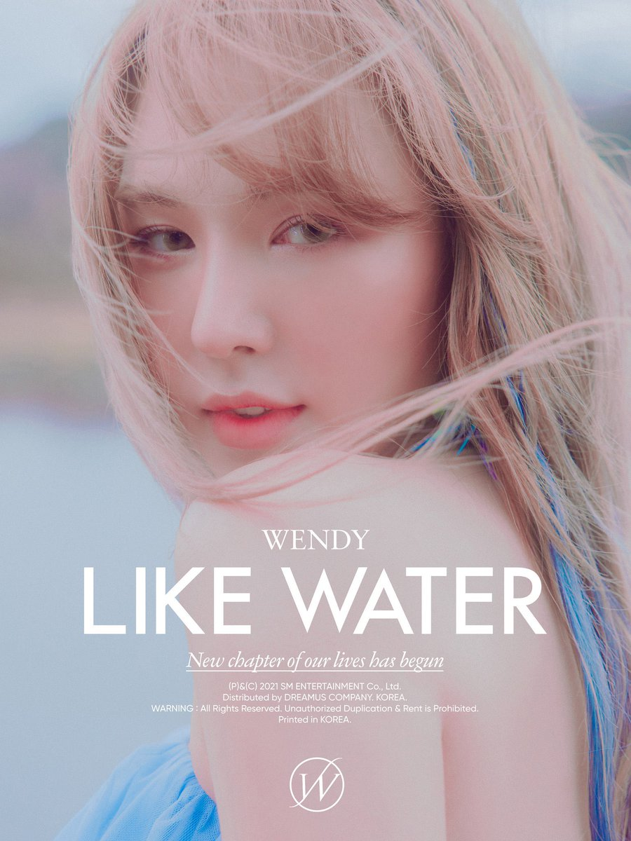 Like Water - Wendy - Musik - SM ENTERTAINMENT - 8809633189753 - April 16, 2021
