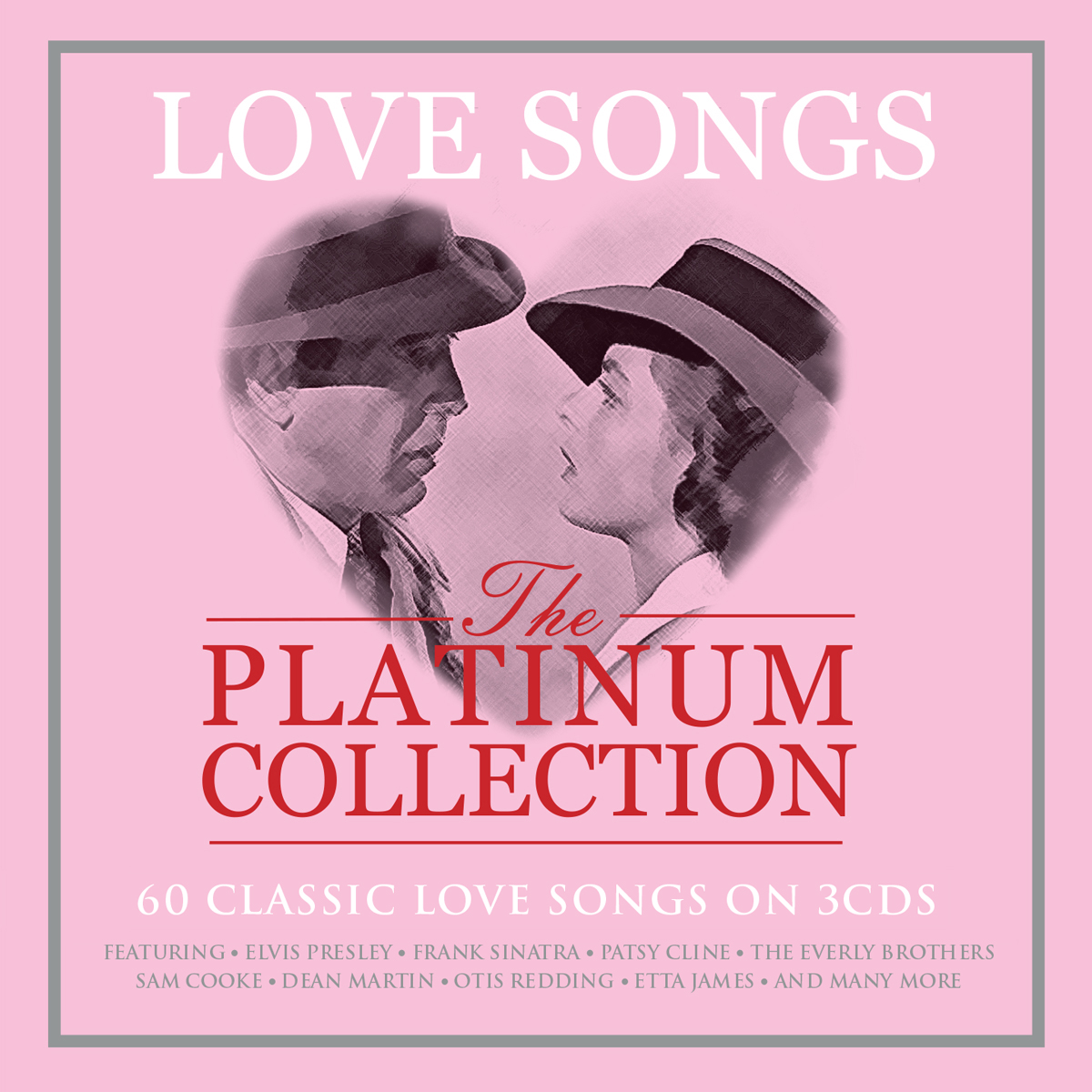 Love Songs: Platinum Collection / Various - Love Songs: Platinum Collection / Various - Musik - NOT NOW - 5060432022761 - 2018