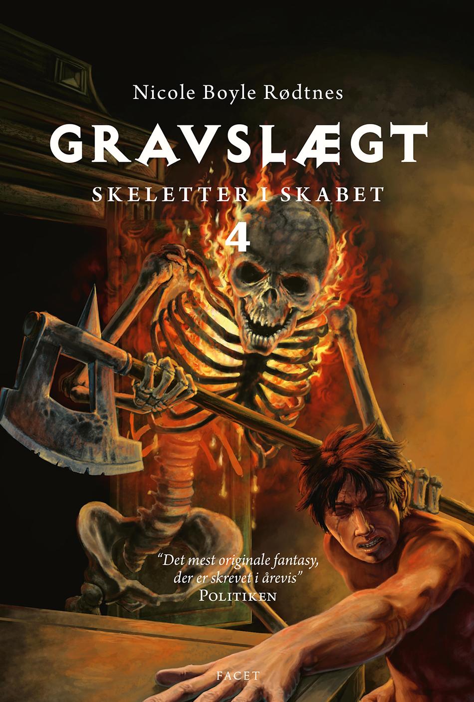 Skeletter i skabet: Gravslægt - Nicole Boyle Rødtnes - Bøger - Facet - 9788793456761 - 14/8-2020