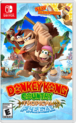 Donkey Kong Country,Switch.2522940 -  - Bøger -  - 0045496421762 - 4/5-2018