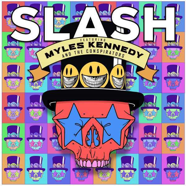 Living the Dream - Slash Feat. Myles Kennedy & the Conspirators - Musik - ROADRUNNER - 0190295580766 - 20/9-2018