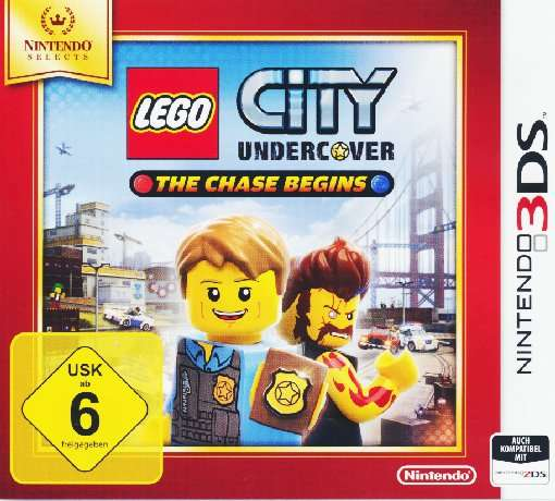 LEGO City Undercover,Chase.N3DS.2233740 - 3DS - Bøger -  - 0045496472771 - 1/9-2016