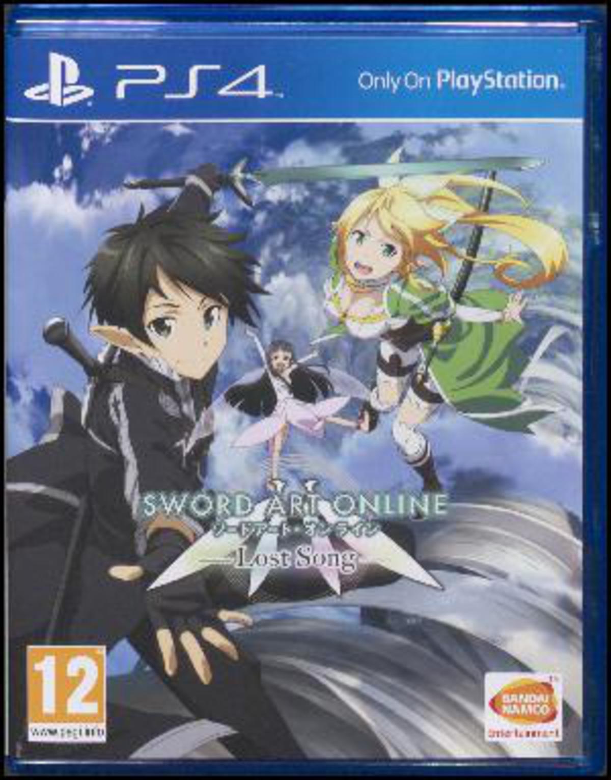 Sword Art Online - Lost Song - Sword Art Online - Andet - Bandai Namco - 3391891985772 - 13/11-2015