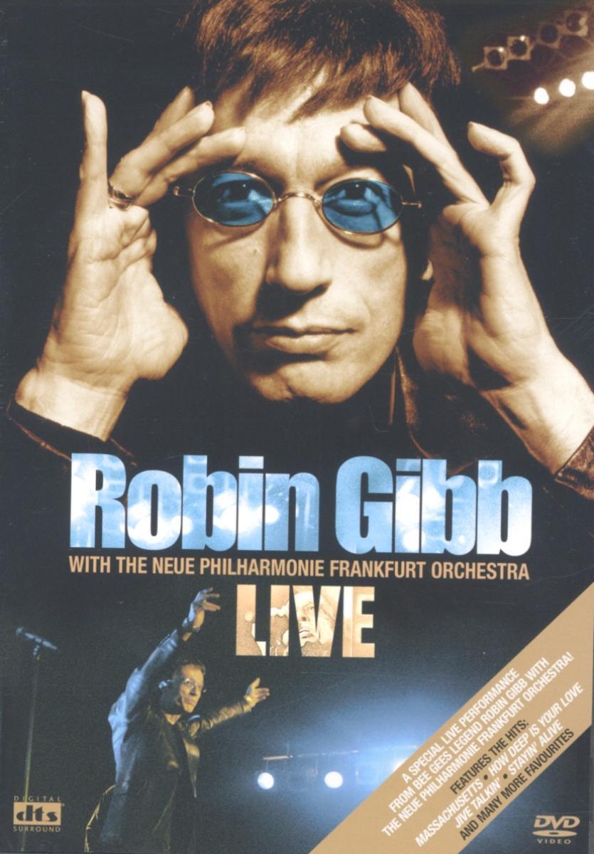Live with the Frankfu Frankfurter New Philharmonic / Pal / All Regions - Robin Gibb - Film - EAGLE VISION - 5034504946774 - 7/8-2018