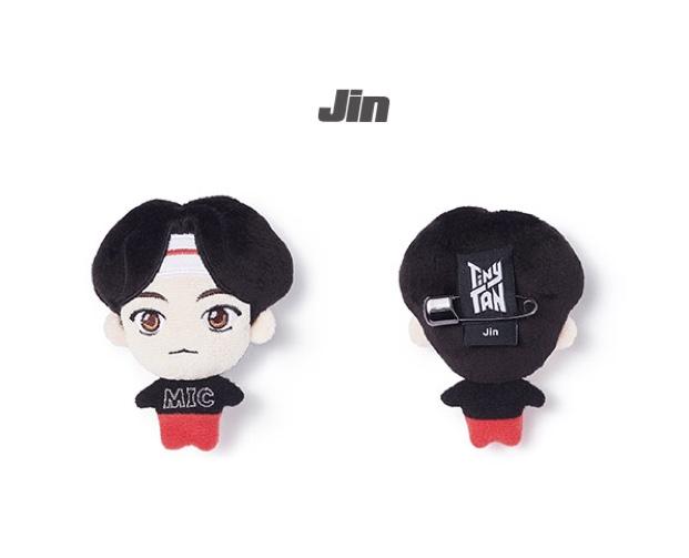 JIN - TINYTAN PLUSH BADGE - BTS - Merchandise -  - 8809743198775 - 18/3-2021