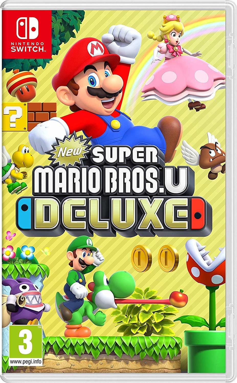 New Super Mario Bros U  Deluxe Switch - Nintendo - Spil -  - 0045496423780 - 11/1-2019