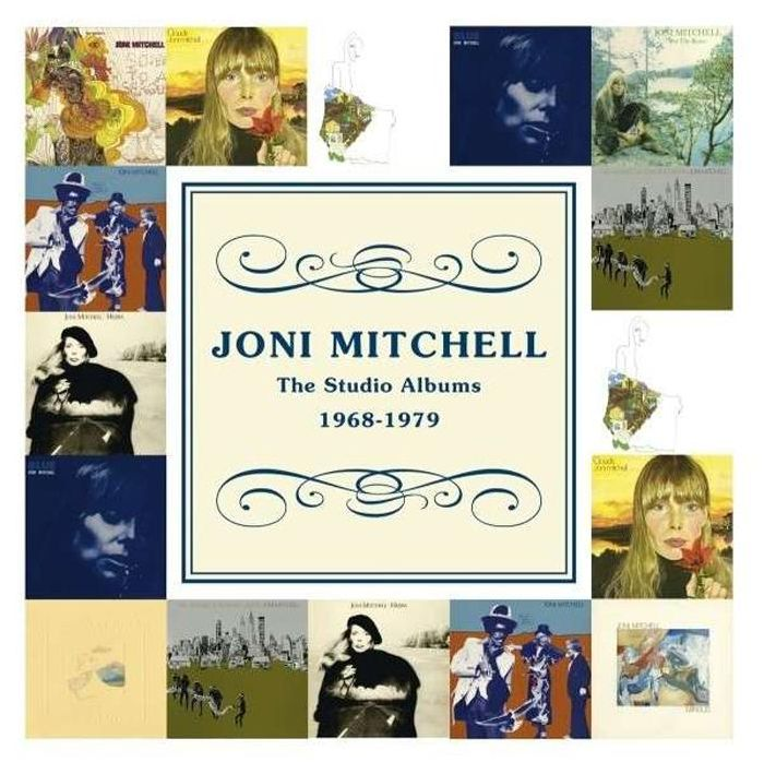 Studio Albums 1968-1979 - Joni Mitchell - Musik - RHINO - 0081227971786 - 29/10-2012