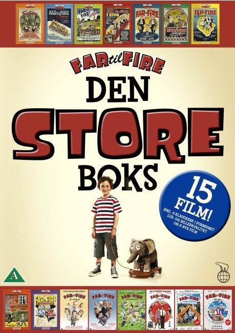 Far til Fire - den Store Boks -  - Film -  - 5708758707787 - November 6, 2014