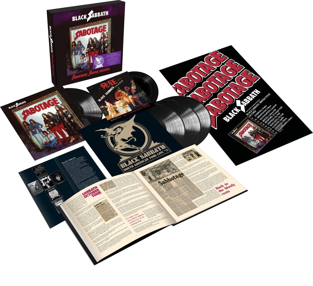 Sabotage - Black Sabbath - Musik - BMG Rights Management LLC - 4050538659788 - June 11, 2021