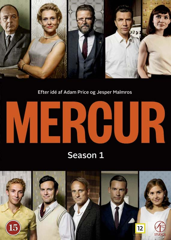 Mercur - Sæson 1 - Mercur - Film -  - 7333018008793 - 31/8-2017