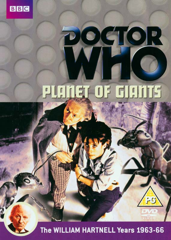 Doctor Who Planet Of The Giants - Doctor Who: Planet of Giants - Film - BBC WORLDWIDE - 5051561034794 - 20/8-2012