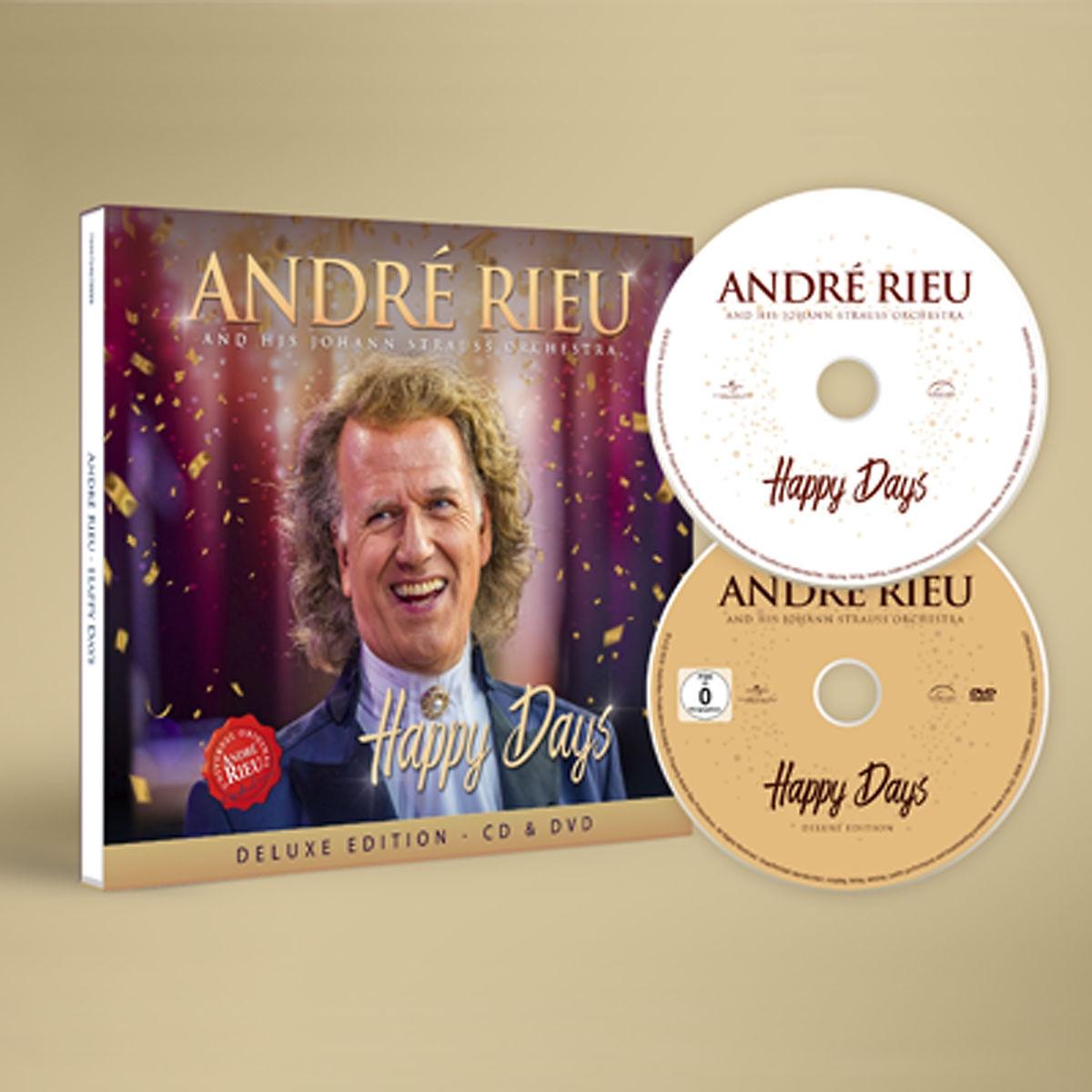 Happy Days - André Rieu - Musik - POLYDOR - 7444754879803 - 22/11-2019