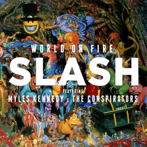 World on Fire - Slash - Musik - ROADRUNNER - 0016861755812 - 15/9-2014