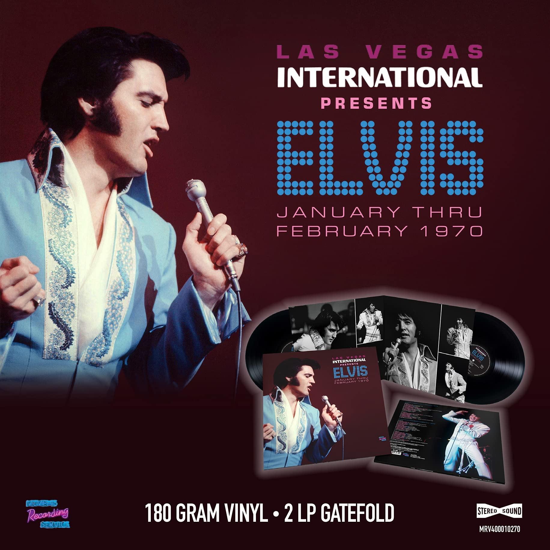 Las Vegas International Presents Elvis - January Thru February 1970 - Elvis Presley - Musik - MEMPHIS - 5024545932812 - June 18, 2021