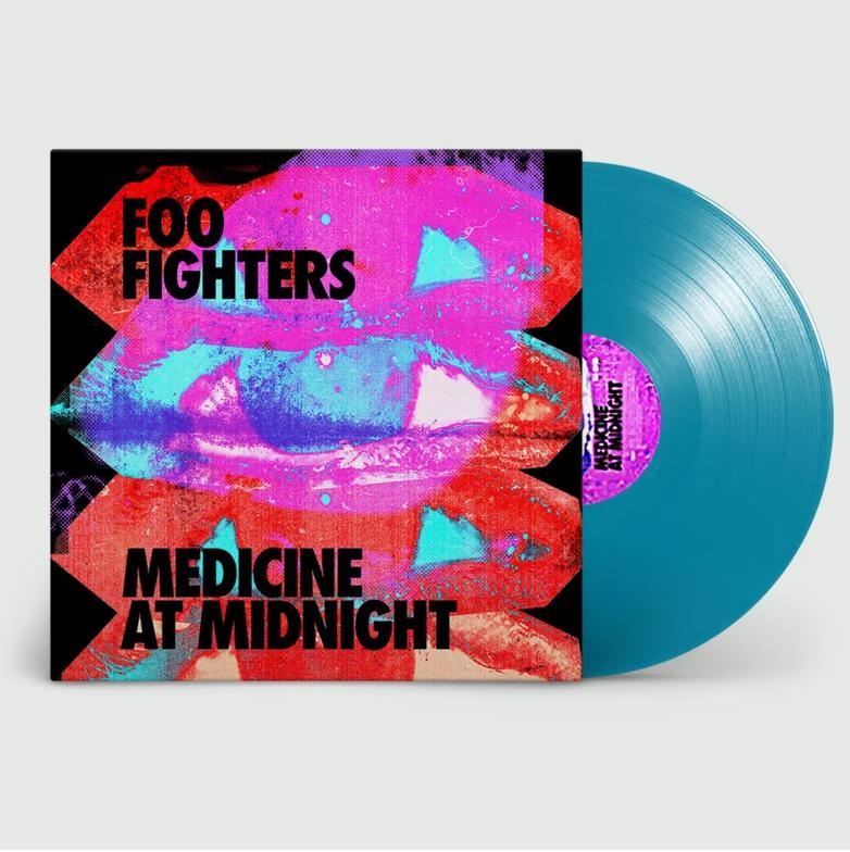 Medicine at Midnight (Limited Blue Vinyl) - Foo Fighters - Musik - RCA - 0194397883817 - 5/2-2021